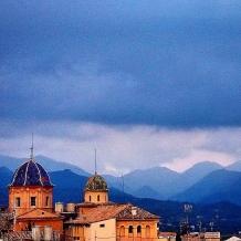 Iglesia del Seminario y Sierra Espadán