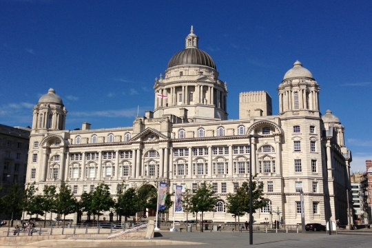 The Cunard Building, Liverpool